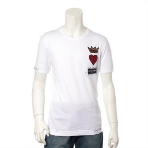 ドルチェ&ガッバーナ コットン Tシャツ 44 メンズ ホワイト タグ付き|usus