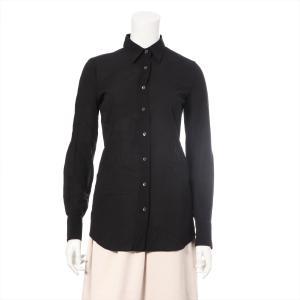ドルチェ&ガッバーナ シルク シャツ サイズ:38 レディース ブラック|usus