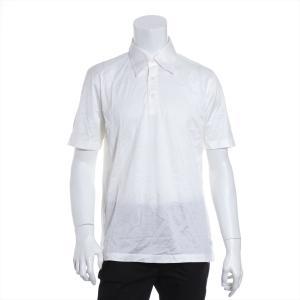 ブリオーニ コットン ポロシャツ M メンズ ホワイト|usus