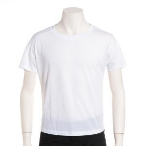ロエベ リヨセルxコットンxポリエステル Tシャツ サイズS メンズ ホワイト アナグラム刺繍|usus