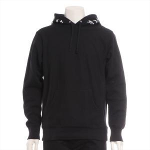 シュプリーム コットン パーカー M メンズ ブラック 17SS スラッシャーコラボ Boyfriend H4ooded Sweatshirt|usus