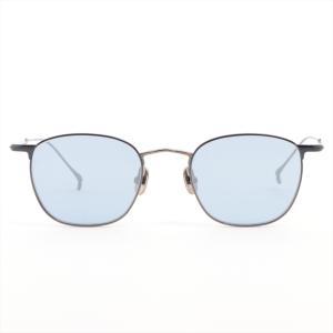 イッセイミヤケ サングラス チタン ブラック 金子眼鏡