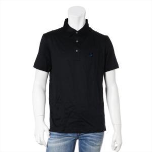 ベルルッティ コットン ポロシャツ R48 メンズ ブラック タグ箱付き|usus