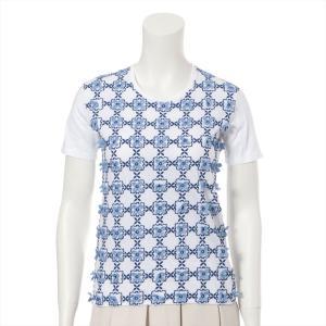 プラダ コットン Tシャツ サイズ;40 レディース ホワイト|usus