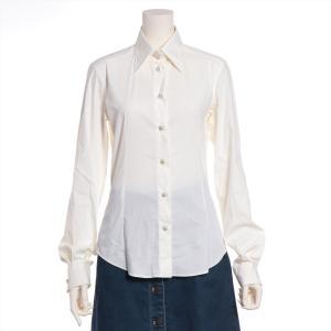 ドルチェ&ガッバーナ コットン シャツ 40 レディース ホワイト|usus