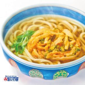 冷凍食品 かき揚げうどん 創業明治十年 老舗の味|utaandon