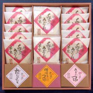 手のべ半生麺・つゆ詰合せ(HS-50)|utaandon