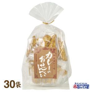 山盛堂本舗 カレー せんべい 85g×30袋|utaandon