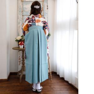 レンタル 袴セット 卒業式 2尺袖着物 袴16点セット 紫とからしのモダン流水 utatane 04