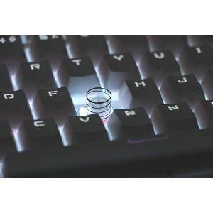 LancerTech 静電容キーボード適用 ?圧スプリング(+10g)Topre Realforce...