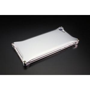 ギルドデザイン iPhone 8/7用アルミ製ソリッドケース シルバー GI-400S
