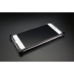 ギルドデザイン iPhone 8/7用アルミ製ソリッドケース ポリッシュブラック GI-400PB