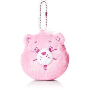 [サンアート]ケアベア Care Bears キーリング付きコインケース ピンク