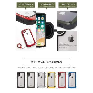 ROOT CO.iPhoneXS Max ケース 耐衝撃 Gravity Shock Resist ...