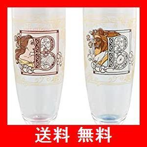 美女と野獣 ペア グラスセット グラス 2個セット プリンセス ベル ディズニーランド 東京ディズニーリゾート TDR 新エリア ニューファンタジー utidenokozuchi