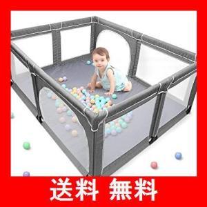 Yobest ベビーサークル, 大型 ベビーフェンス, 洗えるソフトベビーサークル, 日本育児ベビーサークル, 室内外対応 堅固さ 耐久性ベビー用サ|utidenokozuchi