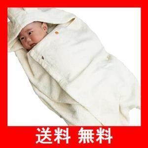今治タオル imabari towel 出産祝い 日本製 オーガニックコットン ベビーバスローブ バスポンチョ ギフトセット|utidenokozuchi