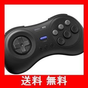 8Bitdo M30Bluetoothゲーミングコントローラー6ボタンメガドライブ風ゲームパッド / Raspberry Pi/スイッチ/macOS utidenokozuchi