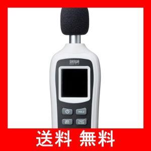 サンワサプライ デジタル騒音計(騒音・温度 計測可能) 小型 CHE-SD1|utidenokozuchi