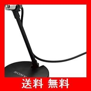 ソニー コンデンサーマイク モノラル/PC通話用 マイクスタンド・ホルダークリップ付属 ECM-PC60|utidenokozuchi