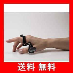 TAPWITHUS タップストラップ2 - ウェアラブルキーボード、マウスとエアジェスチャーコントローラ S サイズ ブラック|utidenokozuchi