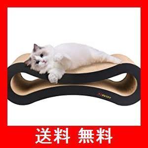 Aibuddy 爪とぎ 猫 段ボール 高密度 耐久 ベッド型 ソファ 爪磨き キャット|utidenokozuchi