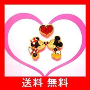 ディズニー公式ミッキーマウス ミニーマウス ハートピアス国内正規品【ディズニーリゾート限定】|utidenokozuchi