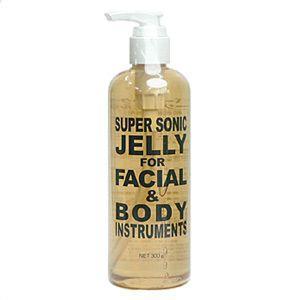 超音波美顔器の専用マッサージジェル♪1回のご使用量は2〜3プッシュ程度!約100回分 お顔も身体もコ...