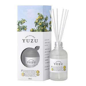 高知県産ユズの香り YUZU 消臭リードディフューザー