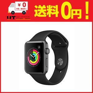 Apple Watch Series 3(GPSモデル)- 42mmスペースグレイアルミニウムケース...