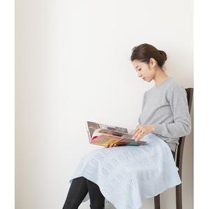 UTO 最高級 カシミヤ 100% 日本製 透かし柄 ベビーブランケット サイズ:フリー カラー:4色|utocashmere