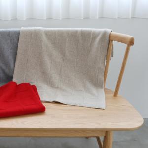 UTO 最高級 カシミヤ 100% 日本製 ブロックチェック柄 ブランケット 色:20色|utocashmere