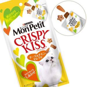 モンプチ クリスピーキッス チーズ&チキンセレク...の商品画像