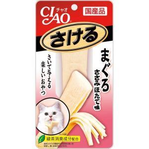 いなば チャオ CIAO さける まぐろ ささみ ほたて味 25g(いなば チャオ(CIAO)/キャットフード/猫用おやつ/猫のおやつ・猫のオヤツ・ねこのおやつ/猫用品) utopia-y