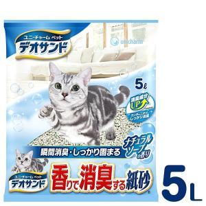 ユニチャーム デオサンド 香り紙砂 ナチュラル...の関連商品5