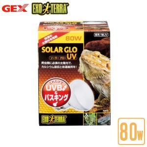 GEX エキゾテラ ソーラーグローUV 80W PT2334(ジェックス/GEX/エキゾテラ/ライテ...
