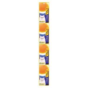 チャオ CIAO だしスープ 4連パック 焼津産かつおだし 35g×4袋 (キャットフード/猫用おやつ/猫のおやつ・猫のオヤツ・ねこのおやつ)(いなば チャオ CIAO )|utopia-y