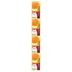 チャオ CIAO だしスープ 4連パック 北海道産ほたてだし 35g×4袋 (キャットフード/猫用おやつ/猫のおやつ・猫のオヤツ・ねこのおやつ)(いなば チャオ CIAO ) utopia-y