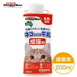 ドギーマン ネコちゃんの牛乳 成猫用 200m...の関連商品9