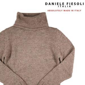 【M】 DANIELE FIESOLI ダニエレフィエゾーリ タートルネックセーター メンズ 秋冬 ベージュ 並行輸入品 ニット|utsubostock