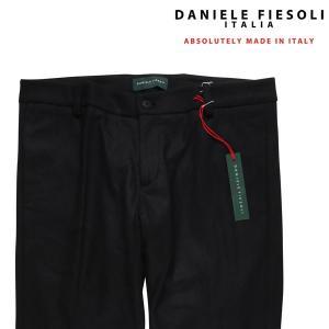 DANIELE FIESOLI パンツ メンズ 秋冬 M/46 ブラック 黒 ダニエレフィエゾーリ 並行輸入品|utsubostock