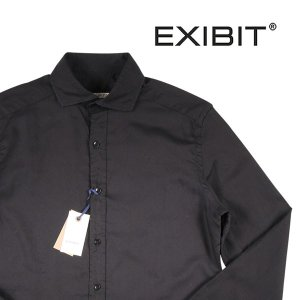 EXIBIT 長袖シャツ メンズ L/48 ブラック 黒 エグジビット 並行輸入品|utsubostock