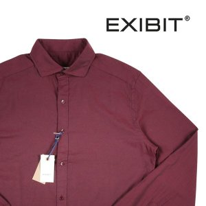 EXIBIT 長袖シャツ CA113C14 wine M 10092WN【A10093】 エグジビット|utsubostock