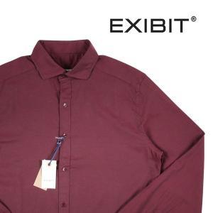 EXIBIT 長袖シャツ CA113C14 wine XL 10092WN【A10095】 エグジビット|utsubostock