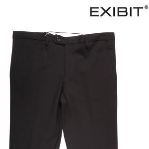 EXIBIT ニットパンツ メンズ 48/L ブラック 黒 エグジビット 並行輸入品|utsubostock