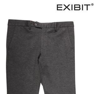 EXIBIT ニットパンツ メンズ 46/M グレー 灰色 エグジビット 並行輸入品|utsubostock