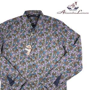 alessandrolamura 長袖シャツ メンズ XL/50 マルチカラー アレッサンドロラムーラ 並行輸入品|utsubostock