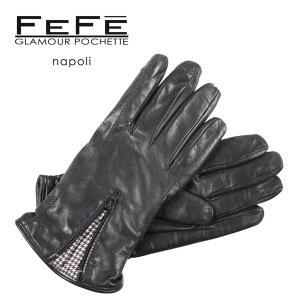 FEFE グローブ メンズ 秋冬 ブラック 黒 フェフェグラマー 並行輸入品|utsubostock