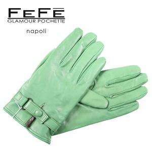 FEFE グローブ メンズ 秋冬 グリーン 緑 フェフェグラマー 並行輸入品|utsubostock
