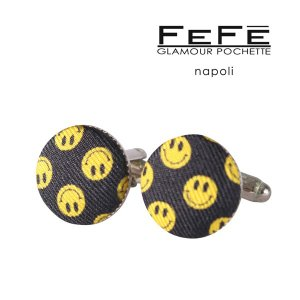 FEFE カフス メンズ マルチカラー シルク混 フェフェグラマー 並行輸入品|utsubostock